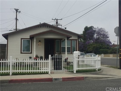San Pedro Single Family Home For Sale: 303 S Walker Avenue