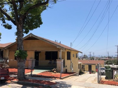 Los Angeles Multi Family Home For Sale: 1609 Vineyard Avenue