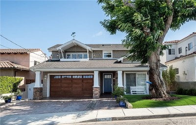 Manhattan Beach Single Family Home For Sale: 1730 6th Street
