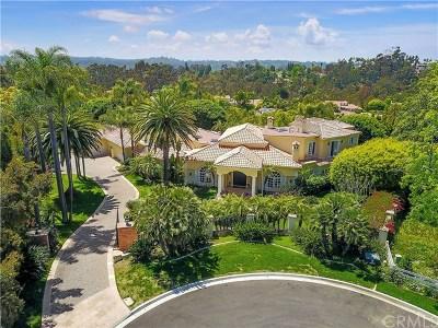 Rancho Santa Fe Single Family Home For Sale: 6501 Via Vista Canada