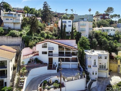 Los Feliz Single Family Home For Sale: 2471 Claremont Avenue