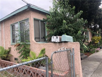 Inglewood Multi Family Home For Sale: 3624 W 109th Street