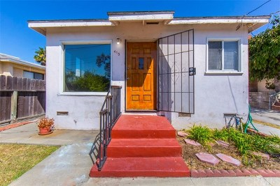 San Pedro Single Family Home Active Under Contract: 415 W Elberon Avenue