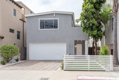 Hermosa Beach Single Family Home For Sale: 722 8th Place