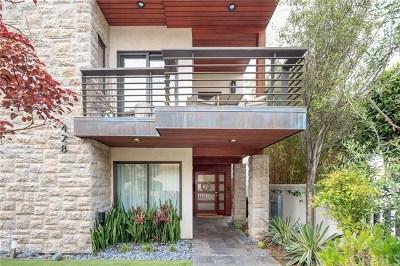 Manhattan Beach Single Family Home For Sale: 428 32nd Street