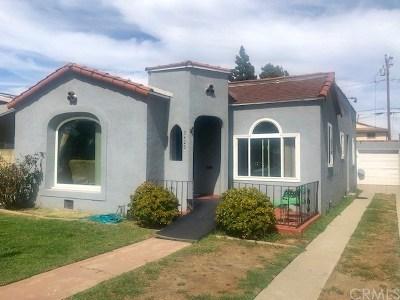 Long Beach Single Family Home For Sale: 2426 Caspian Avenue