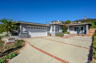 Redondo Beach CA Single Family Home For Sale: $1,525,000