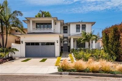 Manhattan Beach Single Family Home For Sale: 2113 Chestnut Avenue