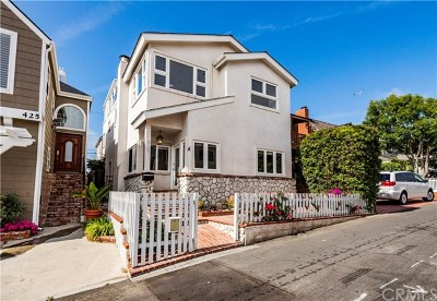 Manhattan Beach Multi Family Home For Sale: 429 35th Street