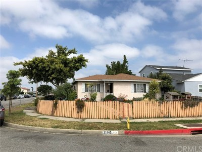 Torrance Single Family Home For Sale: 21145 Broadwell Avenue