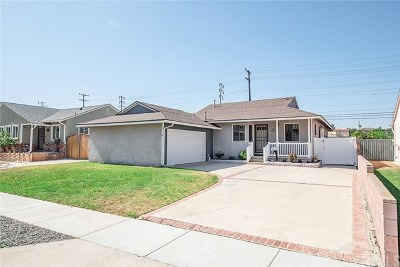 Torrance Single Family Home For Sale: 4625 W 191st Street