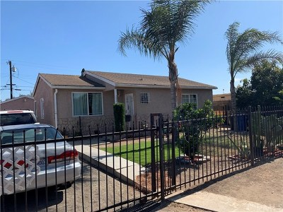 Gardena Single Family Home For Sale: 232 E 157th Street