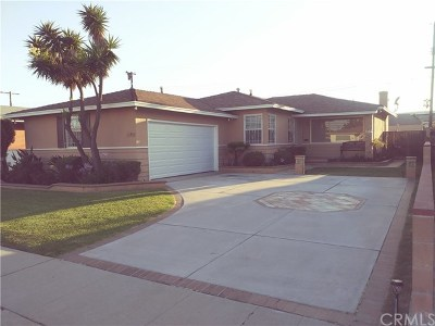 Gardena Single Family Home For Sale: 13401 Spinning Avenue