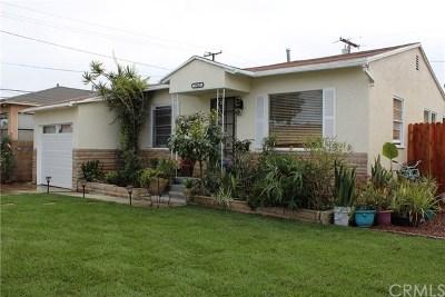 Single Family Home For Sale: 15437 Grevillea Avenue