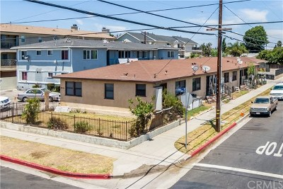 Torrance Multi Family Home For Sale: 1605 W 208th Street