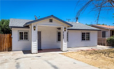 Wildomar Single Family Home For Sale: 21638 Grand Avenue