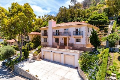 Palos Verdes Estates Single Family Home For Sale: 560 Via Del Monte
