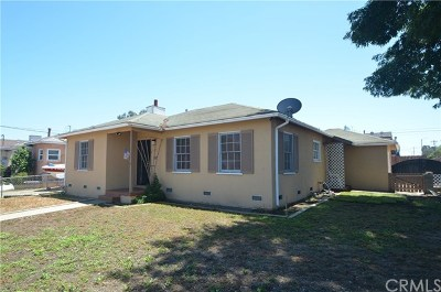 Torrance Single Family Home For Sale: 1572 W 216th Street