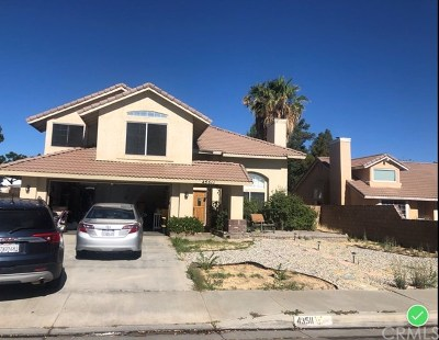 Los Angeles Single Family Home Pending: 43511 11th Street E