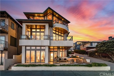 Manhattan Beach Single Family Home For Sale: 3400 The Strand