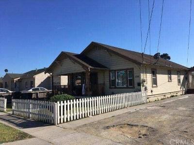 Salinas Multi Family Home For Sale: 1114 Mohar Street