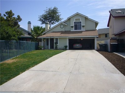 Perris Single Family Home For Sale: 2049 Peachtree Drive
