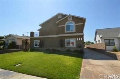Maywood Multi Family Home For Sale: 6117 Alamo Avenue