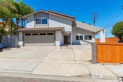 Rancho Palos Verdes Single Family Home For Sale: 1805 Peninsula Verde Drive