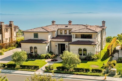 Rancho Palos Verdes Single Family Home For Sale: 31967 Emerald View Drive