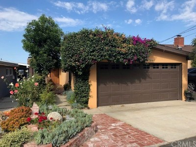 Hermosa Beach Single Family Home For Sale: 1623 Raymond Avenue