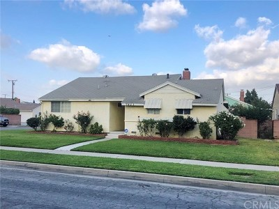 Downey Single Family Home For Sale: 7923 Brookpark Road