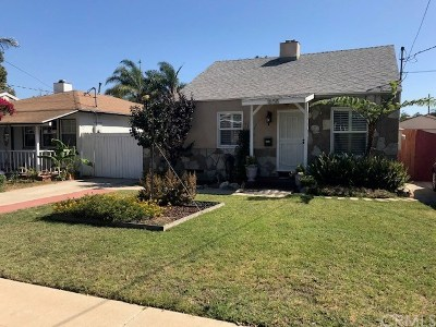 Torrance Single Family Home For Sale: 1658 W 215th Street