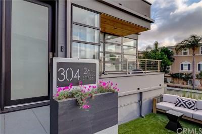 Manhattan Beach Condo/Townhouse For Sale: 304 26th