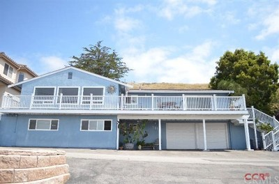 Cayucos Single Family Home For Sale: 701 Park Avenue