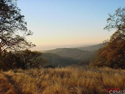 San Luis Obispo County Residential Lots & Land For Sale: Cinnabar Rock Trail