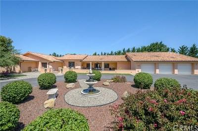 Arroyo Grande Single Family Home For Sale: 2736 Sevada Lane