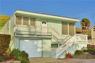 Cayucos Single Family Home For Sale: 3225 Studio Drive