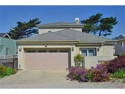 Cayucos Single Family Home For Sale: 55 Del Mar Avenue