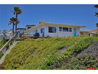 Cayucos Single Family Home For Sale: 474 Pacific Avenue