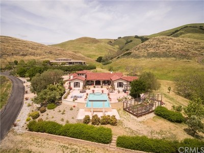 San Luis Obispo CA Single Family Home For Sale: $2,498,000