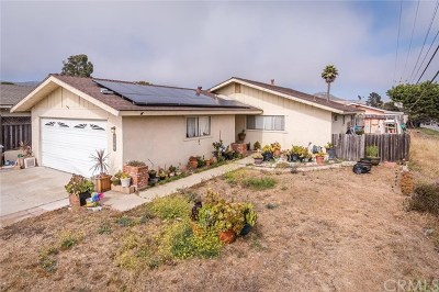 Los Osos Single Family Home For Sale: 1194 15th Street