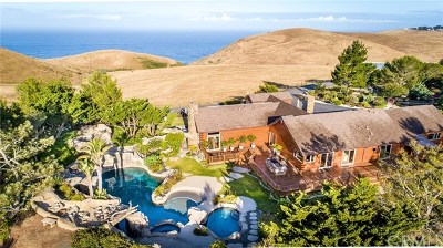 Cambria CA Single Family Home For Sale: $9,985,000
