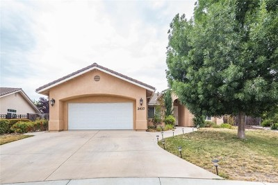 Paso Robles Single Family Home For Sale: 2627 Beechwood Drive