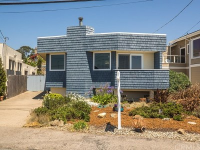 Cayucos Single Family Home For Sale: 1433 Pacific Avenue