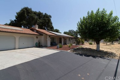 Atascadero Single Family Home For Sale: 14825 El Camino Real