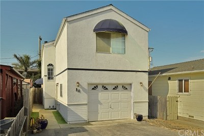 Cayucos Single Family Home For Sale: 84 Saint Mary Avenue