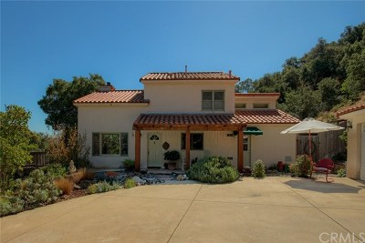Santa Margarita Single Family Home For Sale: 7792 Tassajara Creek Road