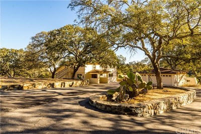 Santa Margarita Single Family Home For Sale: 7070 Tassajara Creek Road