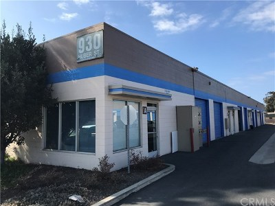 San Luis Obispo County Commercial For Sale: 930 Huber Street #A