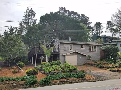 Cambria Single Family Home For Sale: 2850 Ardath Drive